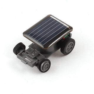 Blue Plastic Shell Modern Solar Energy Car Toy for Children