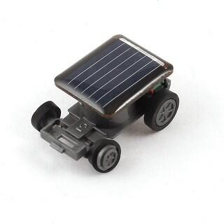 Blue Plastic Shell Modern Solar Energy Car Toy for Children