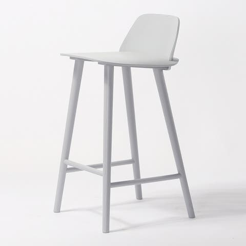 Alma Modern Wooden Counter Stool (26-inch)