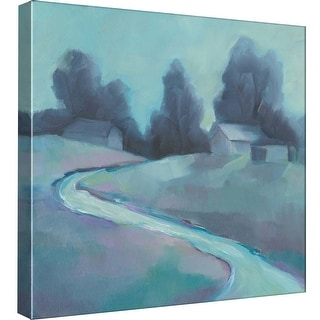 """PTM Images 9-99561  PTM Canvas Collection 12"""" x 12"""" - """"Winter Morning"""" Giclee Rural Art Print on Canvas"""