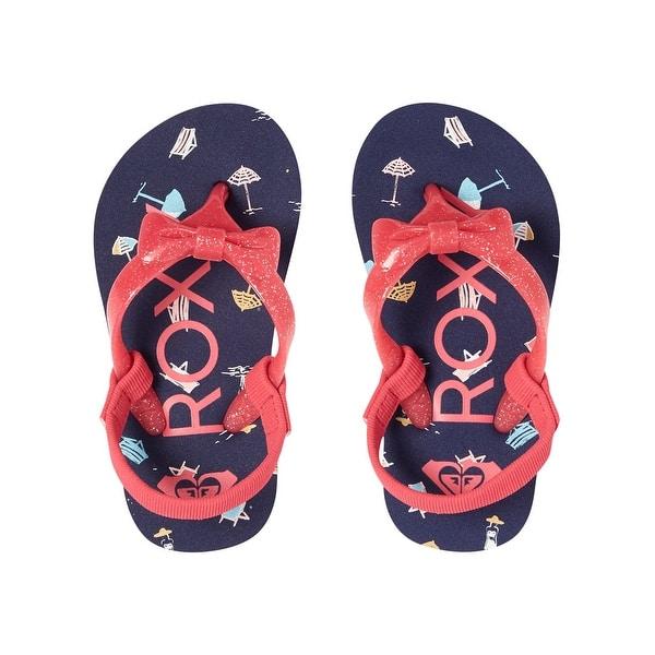 c38d2da1c8903 Shop Kids Roxy Girls Arol Slip On Sling Back Flip Flops - Free ...