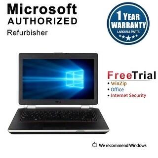 "Refurbished Dell Latitude E6420 14.0"" Laptop Intel Core i5 2520M 2.5G 8G DDR3 240G SSD DVDRW Win 10 Pro 1 Year Warranty - Silver"