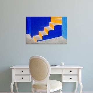 Easy Art Prints Julie Eggers's 'Very Colorful Stairs' Premium Canvas Art