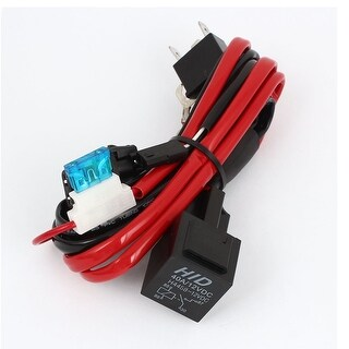 Unique Bargains 40A 12V Wiring Harness H4 H L HID KIT Bi Xenon Car Relay unique bargains hid hi lo bi xenon wiring relay harness controller Custom Auto Wire Harness H4 at aneh.co