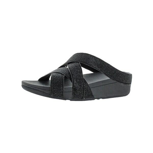 0fc377fb579b Shop Fitflop Womens Slinky Rokkit Slide Sandals Microfiber Slide ...