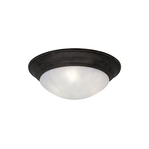 """Designers Fountain 1245M-ORB 2 Light 14"""" Medium Size Flush Mount from the Lunar Collection"""