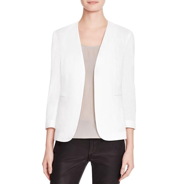 4296d4424f5 Shop Theory Womens Blazer Linen Open - Free Shipping Today ...