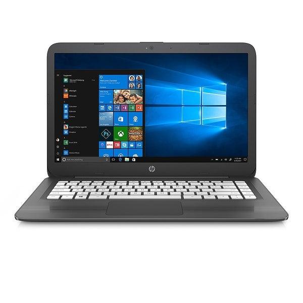 """Refurbished - HP Stream 14-AX060NR 14"""" Laptop Intel Celeron N3060 1.60GHz 4GB 32GB eMMC W10"""
