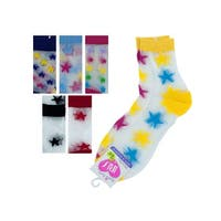 High Cut Stars Socks - Pack of 36