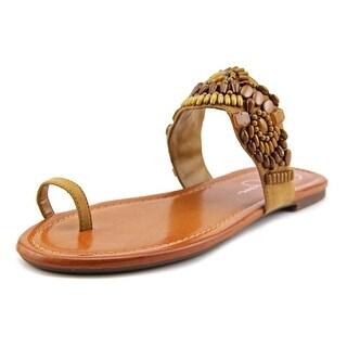Jessica Simpson Razzel Open Toe Synthetic Flip Flop Sandal