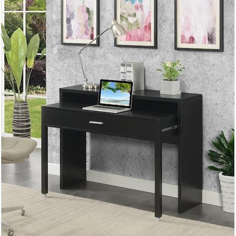 Copper Grove Helena Console/Sliding Desk with Riser