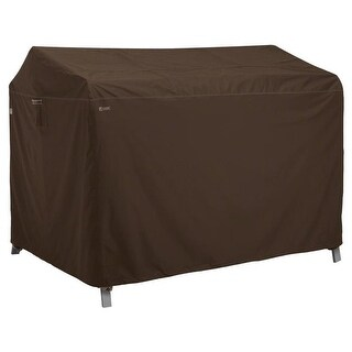 Classic Accessories Madrona Canopy Swing Cover - Dark Cocoa