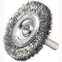 """Weiler 36414 Crimped Wheel Brush, 3"""",  Fine"""