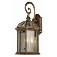 Trans Globe Lighting 44181 Three Light Up Lighting Medium Outdoor Wall Sconce from the Outdoor Collection