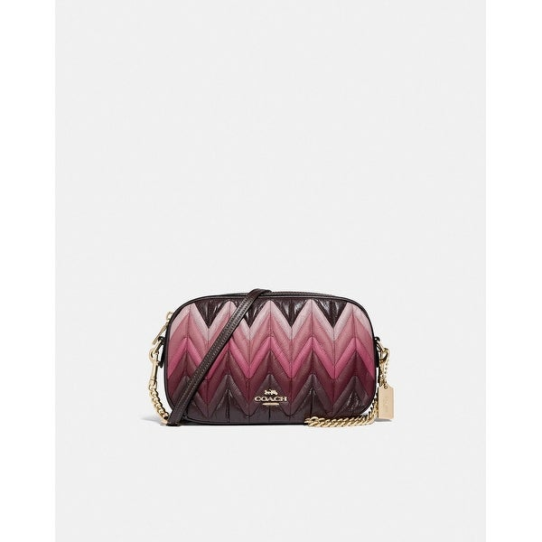 4f1abfabbd14 Shop Coach Isla Chain Crossbody With Ombre Quilting