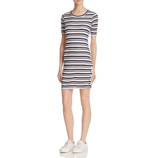 7ddd94903ddd Shop Splendid Womens T-Shirt Dress Bodycon Striped - m - Free ...