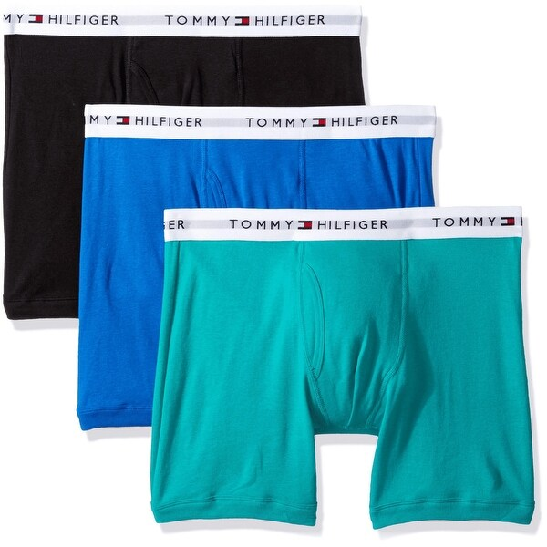 0f39d141 Shop Tommy Hilfiger Men Classic Underwear 3 Pack Cotton Boxer Briefs  (09TE001370) - Free Shipping On Orders Over $45 - Overstock - 27879458