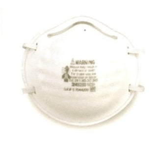"""3M 99497 Disposable Nuisance Dust Mask, """"8200XC1-A"""""""