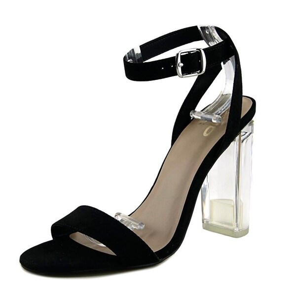 Mix No 6 Lucee Women Open Toe Synthetic Black Sandals