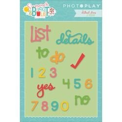 Planner - Photo Play Paper Etched Dies