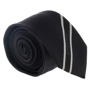Givenchy Black Micro stripe Tie - 2.5-58