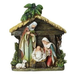 "8.5"" Joseph's Studio Holy Family Christmas Nativity Scene Figures - brown"