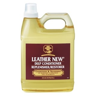 Leather New 3001409 Leather Conditioner & Restorer, 16 Oz