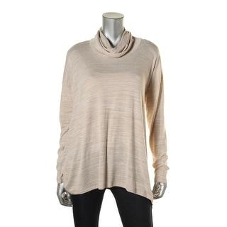 Kensie Womens Cowl Neck Handkerchief Hem Pullover Sweater