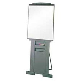 Quartet QRT200E Plastic Easel- Adjusts from 39in. to 72in. High- Gray