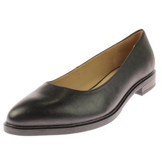 Naturalizer Womens Bengol Flats Faux Leather Textured