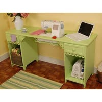 Arrow 1004DL Olivia Sewing Cabinet in Pistachio - Green
