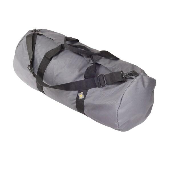 "North Star Sport Duffle Bag 14"" Diam 30"" L - Steel Gray SD1430DLXSG"