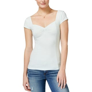 Guess Womens Blouse Comfort Ruched - xL
