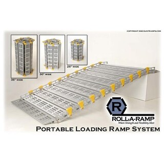 Roll-A-Ramp A13004A19 30 in. x 48 in. Portable Loading Ramp