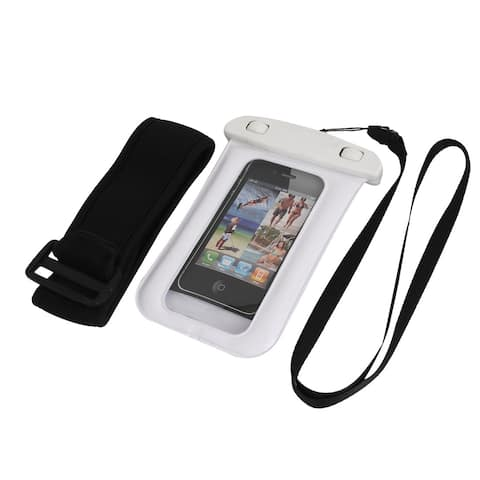 Waterproof Case Dry Bag Skin Cover Pouch Sleeve White for iPhone 5 5C 5S