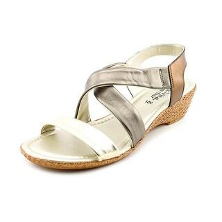 Bella Vita Ciao N/S Open Toe Leather Wedge Sandal