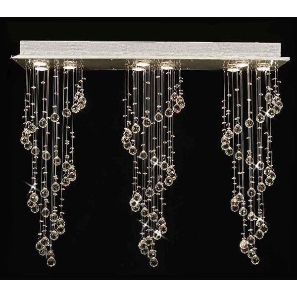 Shop Modern Crystal Ball Chandelier Raindrop Light Lighting Fixture - Chandelier raindrop crystals