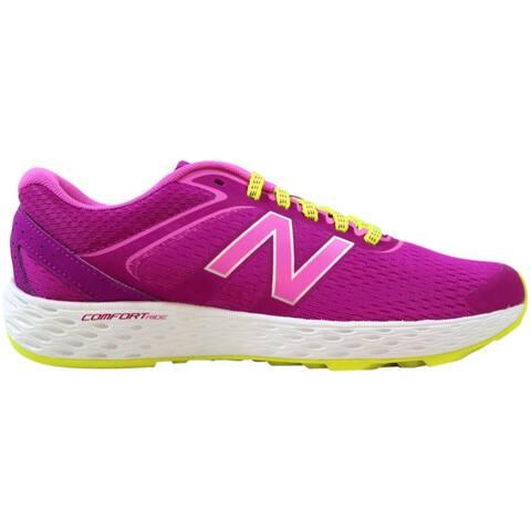 New Balance 520v3 Running Pink/Magenta-White-Yellow W520LP3 Women's