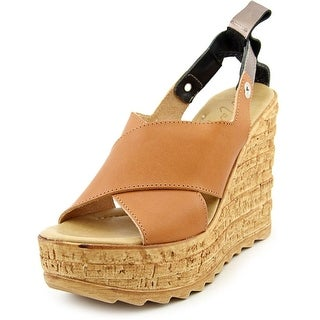 Matisse Ridge   Open Toe Leather  Wedge Sandal