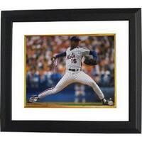 Doc Gooden signed New York Mets 16X20 Photo Custom Framed MLB Hologram