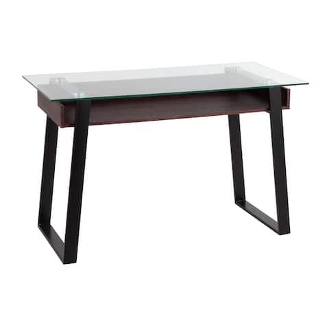 Strick & Bolton Richard Glass Top Desk