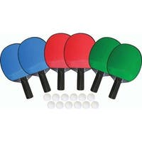 6-Player Table Tennis Set