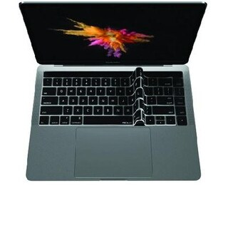 """Macally Keyboard Protective Overlay For 13""""-15"""" Macbook Pro W/ Touch Bar - Black"""