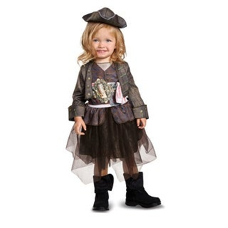 Infant Girls Captain Jack Tutu Pirate Halloween Costume