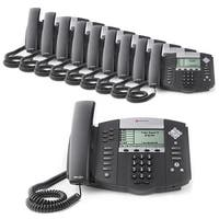 Polycom 2200-12560-025 (10 Pack) SoundPoint IP 560 4-Line IP Phone (POE)