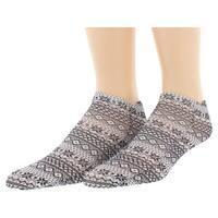 Sof Sole Womens Digital Design Sweater Pattern Low Cut Socks Two Pack Black