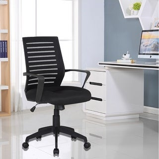 VECELO Office Chairs/ Mesh Chair/ Task Chair Adjustable Height Swivel