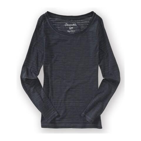 Aeropostale Womens Neon Ls Basic T-Shirt