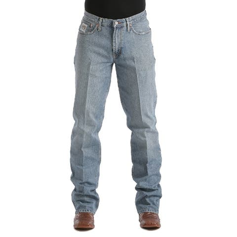 Cinch Western Jeans Mens Denim White Label Relaxed Fit