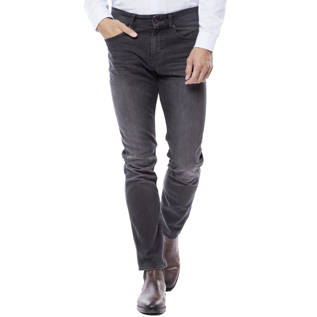 Hugo Boss Mens Delaware Slim Fit Stretch Jeans